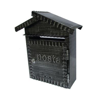Cassetta postale STANDERS formato Lettera, nero, L 34 x P 10 x H 29 cm