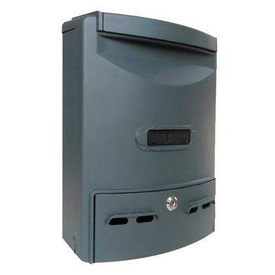 Cassetta postale ALUBOX formato Rivista, ghisa, L 29 x P 10 x H 39 cm