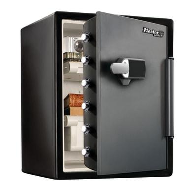 Cassaforte con codice elettronico MASTER LOCK da mobile con fissaggio L 47.2 x P 49.1 x H 60.3 cm