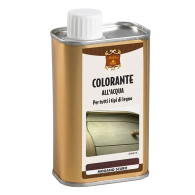 Colorante liquido GUBRA 250 ml mogano scuro