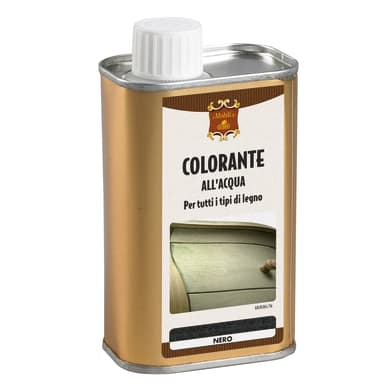 Colorante liquido 250 ml nero