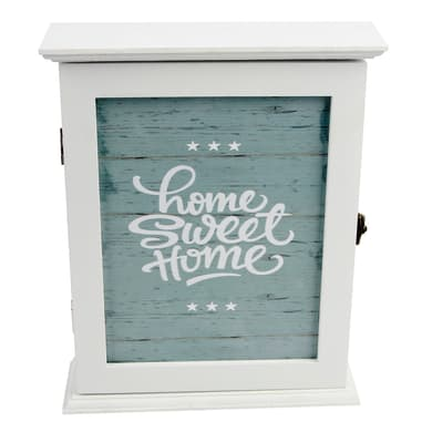 Bacheca Home sweet home 6 ganci multicolore 210 x 260 mm x 6.5 cm