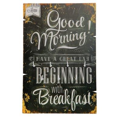 Bacheca portachiavi Good Morning 7 ganci multicolore 200 x 10 mm x 30 cm