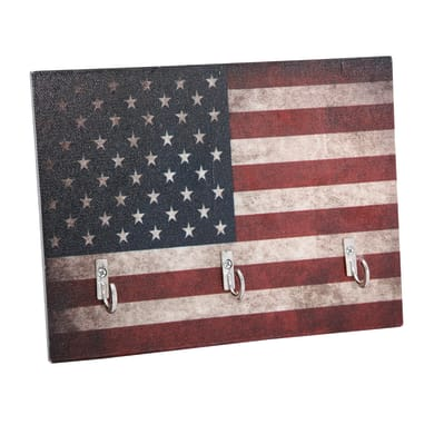Bacheca Stars and stripes 4 ganci multicolore 200 x 150 mm x 1 cm