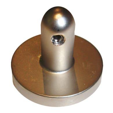 Supporto centrale rosetta Infinity in ferro opaco
