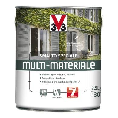 Smalto V33 base solvente bianco ral 9016 2.5 L