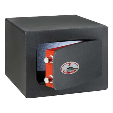 Cassaforte a chiave TECHNOMAX MTK/2 27 L 27 x P 22 x H 21 cm