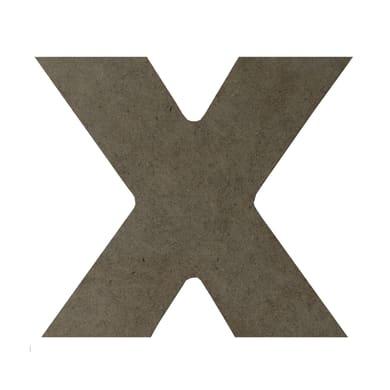 Scritta X 17x15 cm