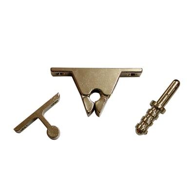 Fermaporta in acciaio