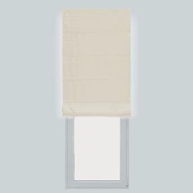 Tendina pieghevole in tessuto INSPIRE Annie ecru 150x250 cm