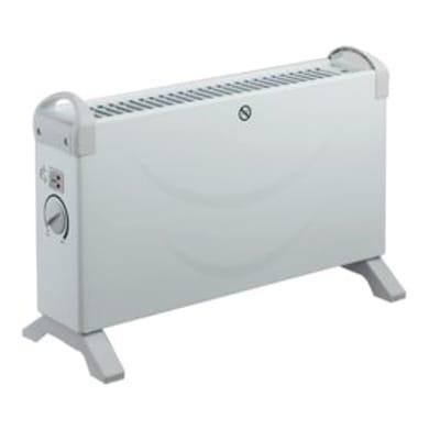 Convettore mobile elettrico EQUATION bianco 2000 W
