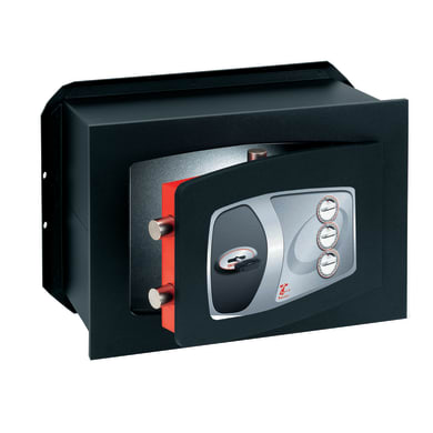 Cassaforte a chiave TECHNOMAX ND/4 da murare L39 x P20 x H27 cm