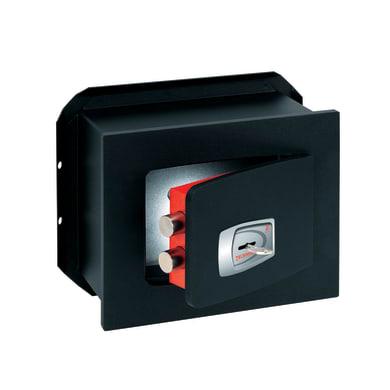 Cassaforte a chiave TECHNOMAX NK/1 da murare L27 x P15 x H21 cm