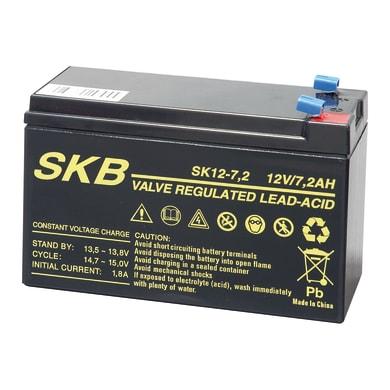 Batteria per allarme 12 V 7.2 Ah impianti videosorveglianza, gruppi di continuità
