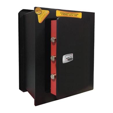 Cassaforte a chiave TECHNOMAX NK/5V da murare L34 x P20 x H42 cm