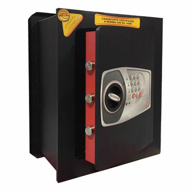 Cassaforte con codice elettronico TECHNOMAX NT/5V da murare L 34 x P 20 x H 42 cm