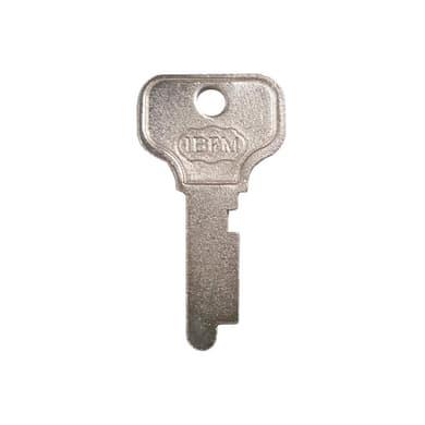 Kit serratura della cassetta postale Reeco in acciaio L 2 x H 3.5 cm