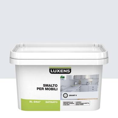 Pittura di ristrutturazione mobile cucina LUXENS 2 l grigio granito 6