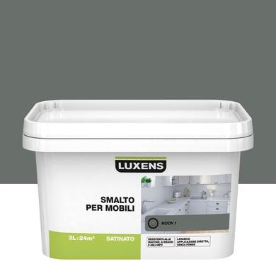 Pittura di ristrutturazione mobile cucina LUXENS 2 l grigio moon 1