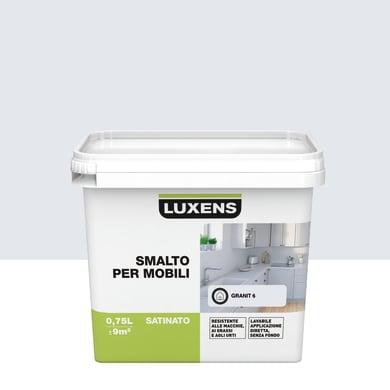 Pittura di ristrutturazione mobile cucina LUXENS 0.75 l grigio granito 6