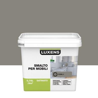 Smalto mobile cucina LUXENS 0.75 l marrone fossil 3