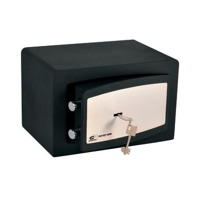 Cassaforte a chiave STANDERS Top Key 10L fissaggio a pavimento L31 x P22 x H20 cm
