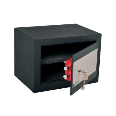 Cassaforte a chiave STANDERS fissaggio a pavimento L35 x P25 x H25 cm