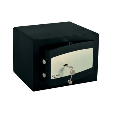 Cassaforte a chiave STANDERS fissaggio a pavimento L20 x P30 x H25 cm