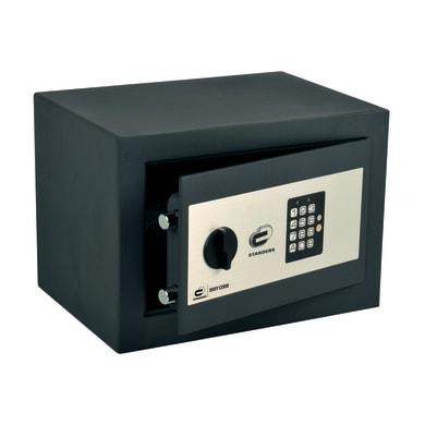 Cassaforte con codice elettronico STANDERS da fissare o murare 35.0 x 25.0 x 25.0 cm