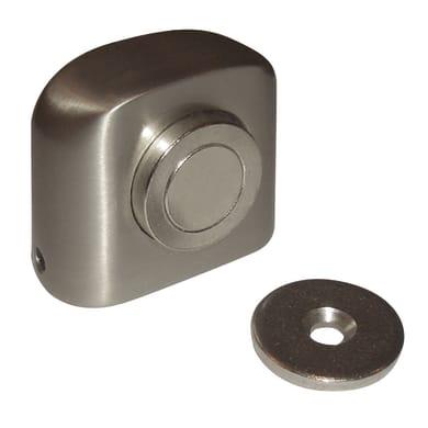 Fermaporta REI 2-321.28 in inox 2 pezzi