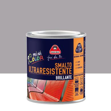 Smalto BOERO FAI DA TE base solvente grigio antico 0,125 L