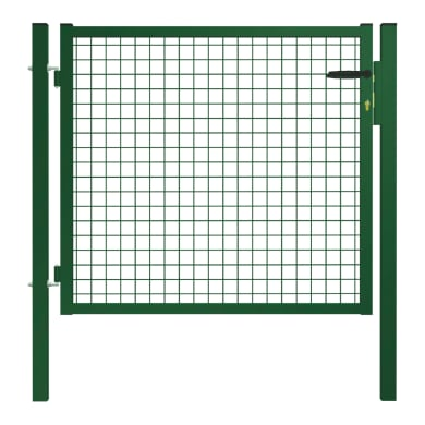 Cancello / portello Garden in acciaio galvanizzato plastificato L 1 x H 1 m