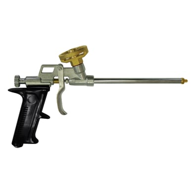 Pistola per schiuma poliuretanica professionale  in ferro 600 ml