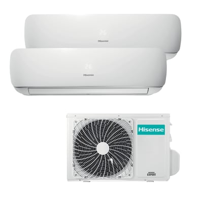 Climatizzatore dualsplit HISENSE MINI APPLE PIE 12000 BTU classe A++