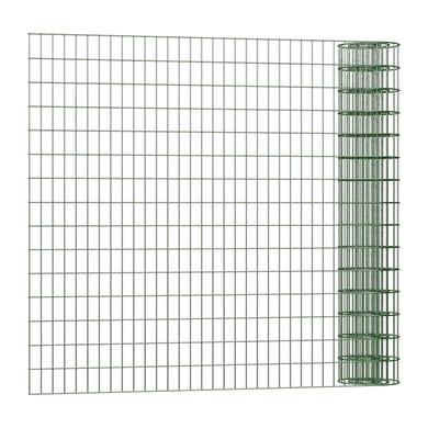 Rotolo di rete metallica elettrosaldato Executive Standard ECO verde L 25 x H 1.75 m
