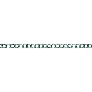 Catena groumette Ø 1,6 mm. nichelato in acciaio