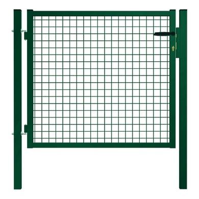 Cancello / portello Garden in acciaio galvanizzato plastificato L 1 x H 1.5 m
