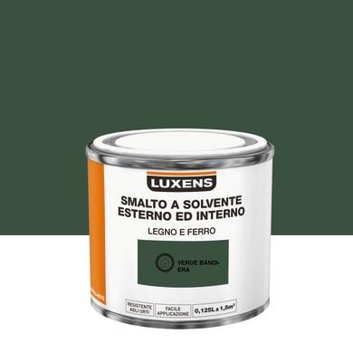 Pittura LUXENS base solvente verde bandiera 0,125 L