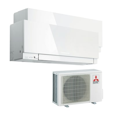 Climatizzatore dualsplit MITSUBISHI Kirigamine Zen bianco 18000 BTU classe A++
