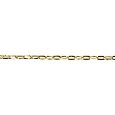 Catena STANDERS forzatina Ø 1,6 mm. ottonato in acciaio
