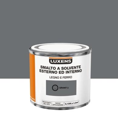 Pittura LUXENS base solvente grigio granit 2 0,125 L