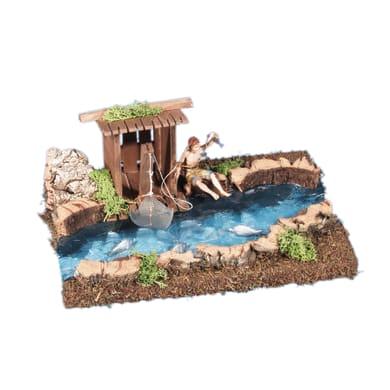 Casa del pescatore L 26 H 11 cm