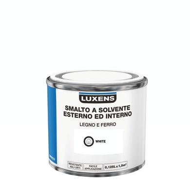 Pittura LUXENS base solvente bianco 0,125 L