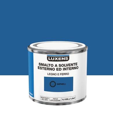 Pittura LUXENS base solvente blu zaffi 2 0,125 L