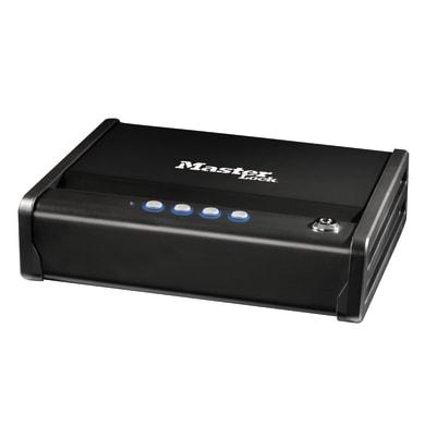 Cassetta porta valori MASTER LOCK in acciaio neroL 30.7 x P 25.1 x H 8.1 cm
