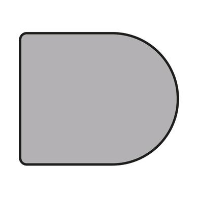 Piastra di protezione per stufa SUPERIOR L 120 x P 100 x H 0.3 cm
