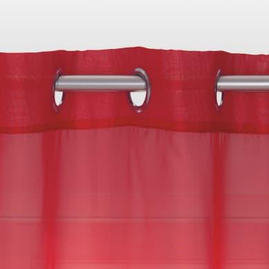 Tenda INSPIRE Polyone rosso occhielli 140x280 cm