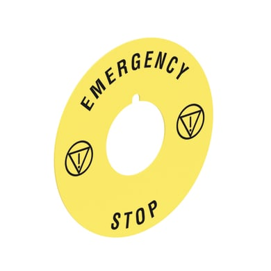 Disco emergency stop LOVATO LPXAU115