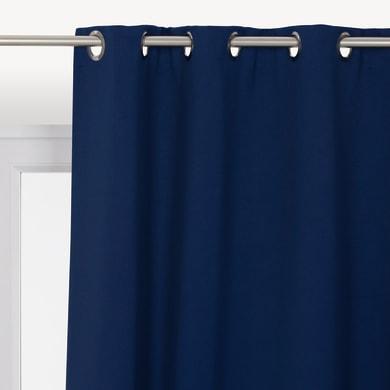 Tenda INSPIRE Oscurante blu anelli 140 x 280 cm
