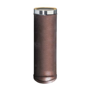 Condotto a doppia parete Tubo DP coib Arabesc d.80/130 in inox 316l (elevata resistenza in condizioni climatiche estreme) 25 cm